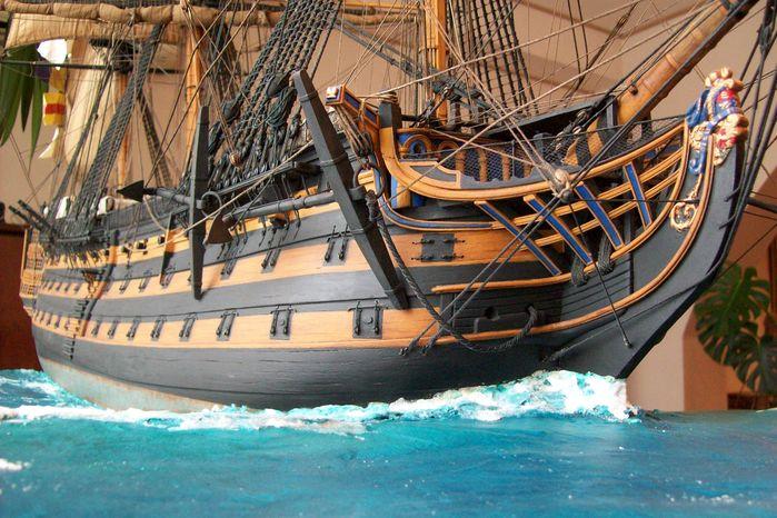 Корабль макет своими руками