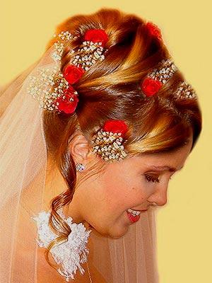 Свадебные прически pricheski_65 - Свадебный...